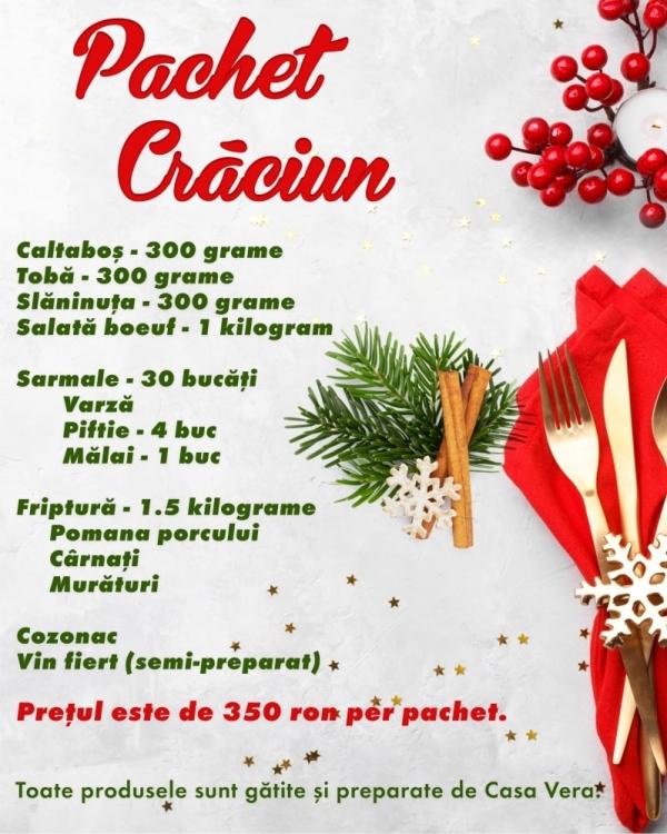 Pachet Craciun - Casa Vera